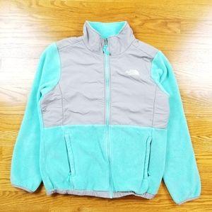 The North Face Denali Turquoise Blue Fleece Jacket